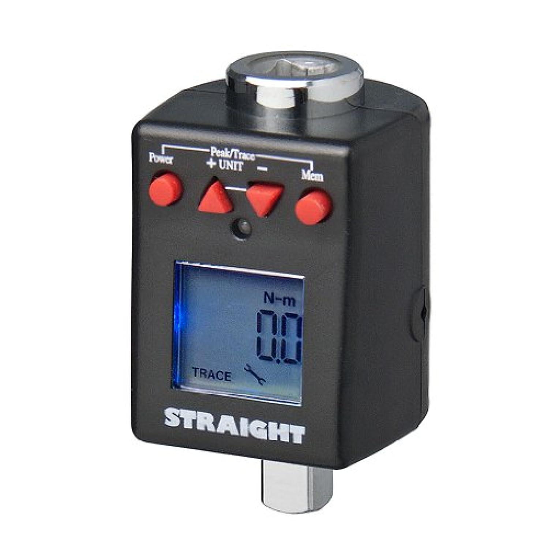 (STRAIGHT/ストレート) トルクレンチアダプター デジタル式 27~135(Nm) 差込角3/8