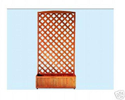 Patio Panel Madera Tiesto Con Paneles de Decoración Cercas Maceta de Jardín: Amazon.es: Bricolaje y herramientas