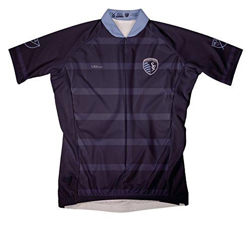 VOmax MLS Herren Arbeitskleidung Short Sleeve Radfahren Jersey, Herren, blau, Small