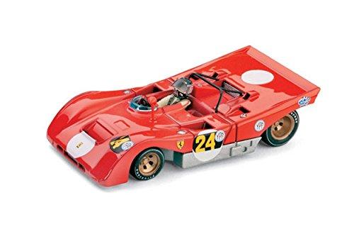 Brumm BM0258CH Ferrari 312 PB N.24 1000 Km B.Aires 1971 I.Giunti 1:43 Die Cast Compatibile con