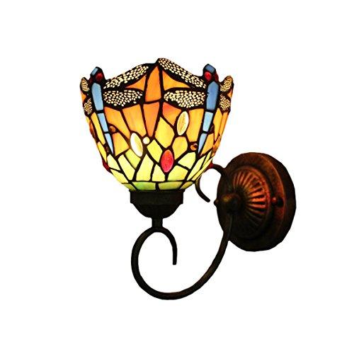 lámpara aplique tiffany fabricante FUMAT