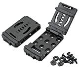 GLBSUNION 1-Pack Tactical Belt Clips, Universal Utility EDC Belt Clip, Outdoor Loops Camping Knife Blade Lock Large with Hardware for Holsters or Mag Pouches Sheath Tools