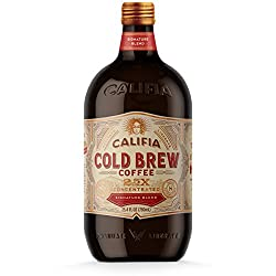 Califia Farms Signature Blend Concentrated Cold Brew Coffee, 25.4 Oz | 2.5x Concentrated | Clean Eng