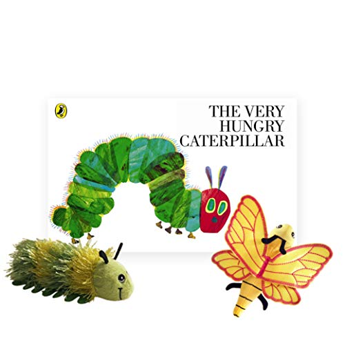 The Very Hungry Caterpillar livre avec marionnettes de doigt