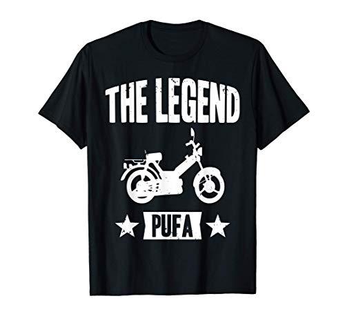 Motorroller Mofa Moped Puch Maxi Roller Geschenk T-Shirt
