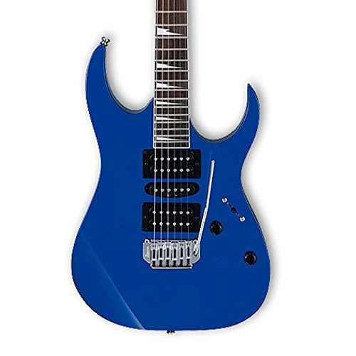 Miiliedy Anfänger üben Professionelle Leistung E-Gitarren-Set GRG170DX E-Gitarre für Rock Roll Blues Heavy Metal Musikstile ( Color : Blue )