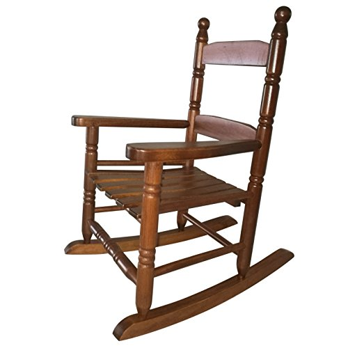 Rockingrocker - K10NT Natural Wood Child's Rocking Chair/porch Rocker - Indoor or Outdoor - Suitable For 1 to 4 Years Old