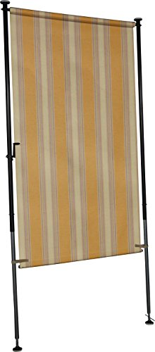 Angerer Balkon Sichtschutz Nr. 300 gelb, 120 cm breit, 2316/300