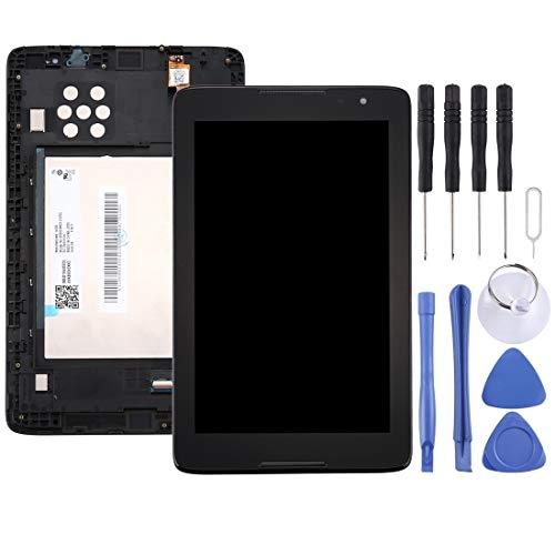 MENGHONGLLI Partes de reparación de teléfonos celulares Lenovo A8-50 Tablet / A5500 Pantalla LCD Asamblea de digitalizador de Pantalla táctil con Marco Black