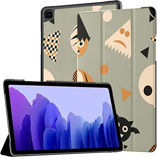 Funda para Samsung A7 2020 Adorno de Halloween Calabaza Araña Bat Fit Samsung Galaxy Tab A7 10,4 Pulgadas 2020 Compatible con Galaxy A7 Funda Funda Tablet PU Funda de Cuero