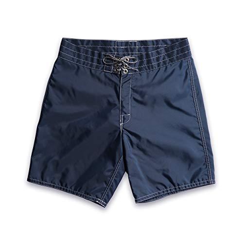 Birdwell Men's 311 Nylon Board Shorts, Medium Length (Navy, 36)