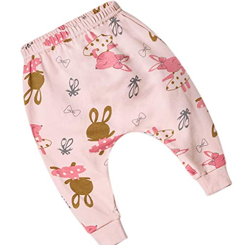 Huilongxin Niño Niño Niña de Dibujos Animados Harem Pantalones Animal Print Basculador se divierten los...