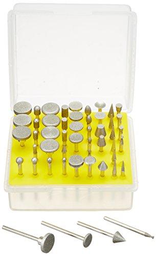 SE 50-Piece Diamond Burr Set, 1/8-Inch Shank, Grit 120 - 8235DD12
