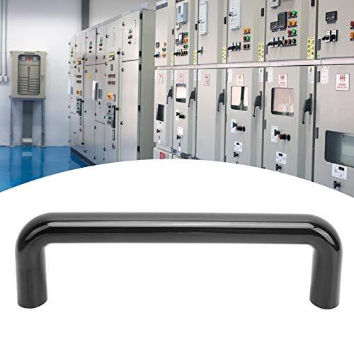 SALALIS Manija de extracción para gabinete de máquina, a Prueba de óxido y Aceite, herrajes de gabinete de Cuadro Negro(160 mm)