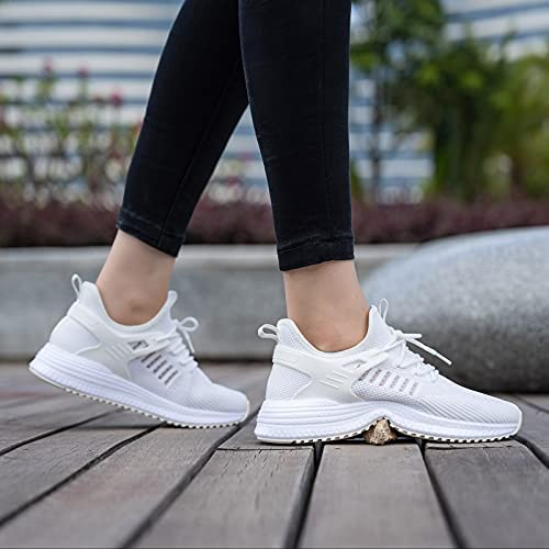 SDolphin Running Shoes Women Sneakers - Tennis Workout Walking Gym Lightweight Athletic Comfortable Casual Memory Foam Fashion Shoes