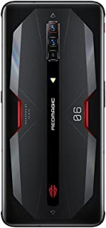 نوبيا ريد ماجيك 6 ثنائي الشريحة 12 جيجا رام 128 جيجا 5G اكليبس اسود، اصدار عالمي