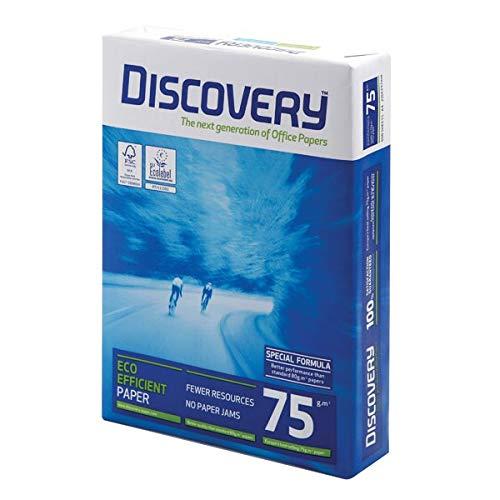 Discovery Papier, A4,75g/m², weiß, 2500Blatt