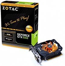ZOTAC NVIDIA GeForce GTX 650 2GB GDDR5 2DVI/2HDMI PCI-Express Video Card ZT-61002-10M