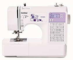 70 Stitch Electronic Sewing Machine with Needle Threader Quick Set Drop in Bobbin and Drop Feed Mechanism Start/ Stop button and speed control which also enables speed limiting Quick touch stitch selection and length & width adjustment Comes packaged...