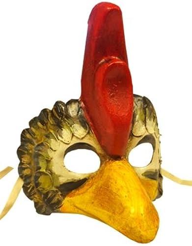 Deluxe Gallo Poulet Coq Animal vénicravaten Full Face Masque de voiturenaval Bal masqué