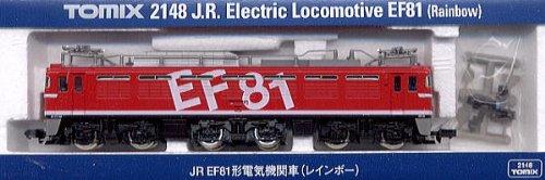 J.R. Electric Locomotive Type EF81 Rainbow (Model Train)