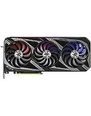 ASUS ROG Strix NVIDIA GeForce RTX 3070 Ti OC edycja karta graficzna do gier (PCIe 4.0, 8 GB GDDR6X, HDMI 2.1, DisplayPort 1.4a, Axial-Tech Fan Design, 2.9-gniazdko, Super Alloy Power II, GPU Tweak II)