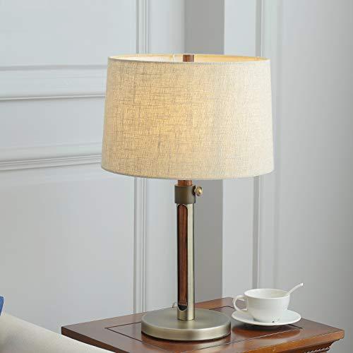 Best wishes shop lampada da tavolo- Americano Lampada da tavolo semplice Soggiorno Lampada da comodino Camera da letto Lampada da scrivania in legno massello nordico e creativo