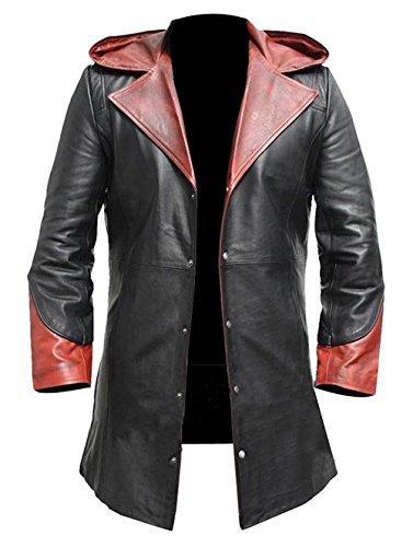 PJapparel Devil May Cry Dante Trenchcoat Gr. Small, Schwarz Kunstleder