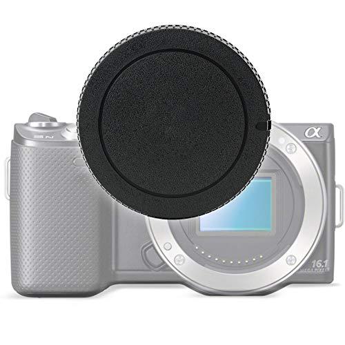 Gehäusedeckel Body Cap kompatibel mit Sony ILCA-77M2Q (A77 II, Alpha 77II), A99 II, SLT-A33 (Alpha 33), SLT-A55, A57, A58, SLT-A65, SLT-A77 II, NEX-3N (ALC-B55), Bajonettverschluss Kappe, Schutzdeckel A-Mount