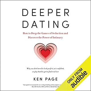 Deeper Dating audiobook cover art