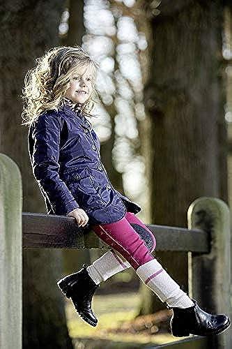 HKM Little Sister by Pantalon d'équitation Bonnie avec basanes