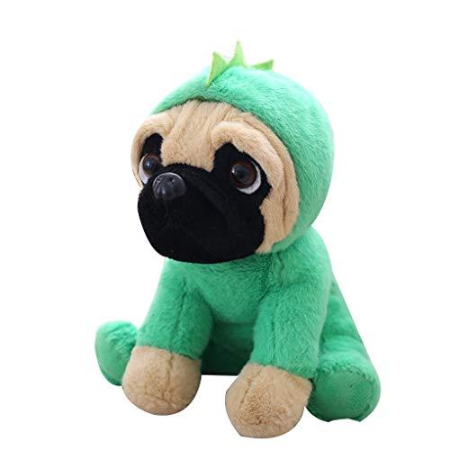 Gevulde Simulatie Honden Pluche Sharpei Mopshond, Heerlijk Puppy Huisdier Speelgoed Pluche Dieren Speelgoed Kinderen Kinderen Verjaardag Kerstcadeaus 20 Cm A