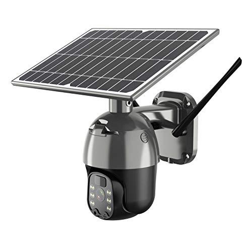 Cámara PTZ inalámbrica con batería solar 4G/WiFi, HD 1080P, resistente al agua, 2 MP, CCTV para el hogar, videovigilancia, cámara IP, detección de movimiento por radar PIR,...