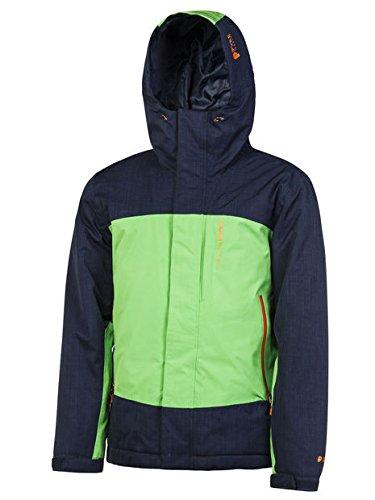 Protest Benefit Snow Jacket, Lucertola verde