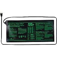 """Hydrofarm Jump Start MT10006, 17 Watt UL Certified Seedling, 3"""" x 20"""" Inches Heat Mat, 8.875""""x19.5"""", Black"""