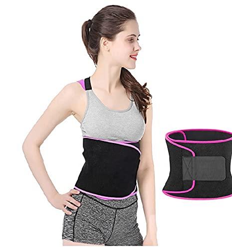 Korso Waistcincher Sweat Belt   Pack of 1   Multicolor Pink