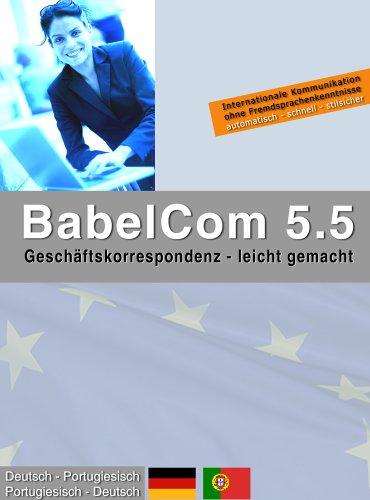 BabelCom 5.5 Personal Deutsch-Portugiesisch  (PC