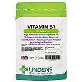 Lindens - Vitamine B1 - 100mg - 100 tabs