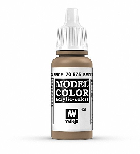 Vallejo Model Color - Vernice acrilica, tubetto da 17 ml Beige Brown
