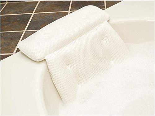 Idle Hippo Bath Badewannenkissen- Anti-Rutsch-Design mit 2 Einsätzen - Komfort Badekissen Stützen für Nacken - Badewannen Kopfstuetze mit 6 Saugnäpfen - passend für alle Whirlpools, Jacuzzis