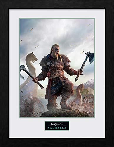 Assassins Creed Valhalla Gold Edition Gerahmter Kunstdruck, 30 x 40 cm
