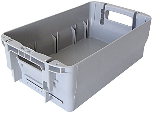 Briefbehälter Typ 1, Postkiste, Postbehälter, Stapelbox