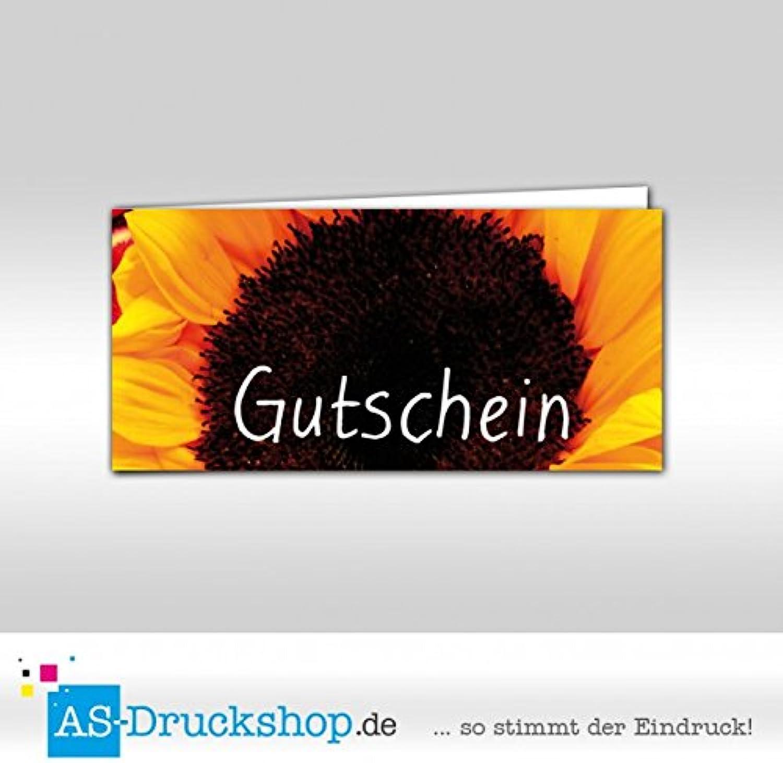 Gutschein Floristik     Blaumenhandel - SonnenBlaumen   100 Stück   DIN Lang B0794XRBF9   | New Listing  53df97
