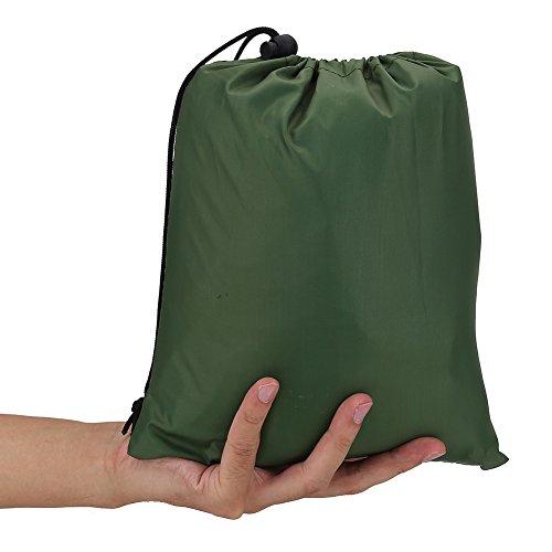 Mxtech Toldo Impermeable para Lluvia, toldo, toldo, toldo, toldo, toldo, toldo, toldo, toldo para Camping, para Acampar y Viajar(Green)