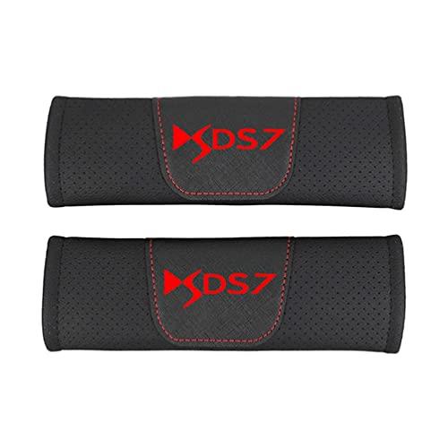 LFDSBLJ Almohadillas para CinturóN Seguridad AutomóVil Almohadillas Confort,para AutomóVil Cuero PU Moda Seguridad Cubierta CinturóN Seguridad Cinturones Seguridad Hombreras AutomóVil 2 Piezas