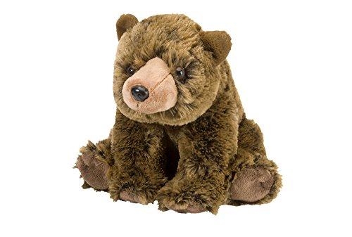 Wild Republic Grizzly Bear Plush, Stuffed Animal, Plush Toy, Gifts for Kids, Cuddlekins 12 Inches, Model:12832