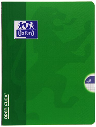 Oxford Openflex - Libreta, cuadricula 4 x 4, 48 hojas, A5