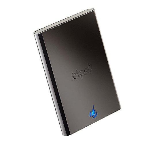 Bipra S2 2.5 Zoll USB 2.0 FAT32 Portable Externe Festplatte - Schwarz (640GB)