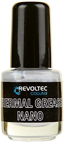 Revoltec Thermal Grease Pasta Termoconduttiva Nano, 6 g, Nero