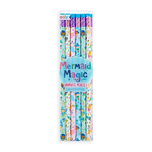 OOLY, Mermaid Magic, Graphite Pencils - Set of 12